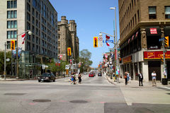 Downtown Ottawa Ontario Canada Stock Photo