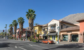 Downtown Palm Springs, California Royalty Free Stock Image
