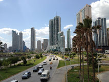 Downtown Panama City Skyline Royalty Free Stock Photography
