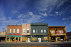 Downtown Panguitch Royalty Free Stock Photo