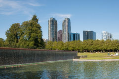 Downtown park of Bellevue Royalty Free Stock Photo