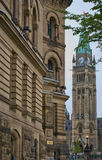 Downtown Parliament Stock Photography