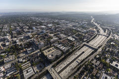 Downtown Pasadena California Aerial Royalty Free Stock Photos