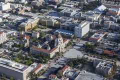 Downtown Pasadena and City Hall Royalty Free Stock Images