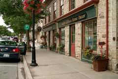 Downtown, Perth Ontario Canada Stock Image