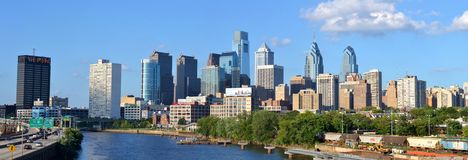 Downtown Philadelphia Royalty Free Stock Photography