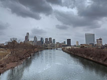 Downtown Philadelphia Skyline Stock Photo