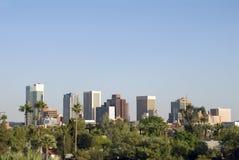 Downtown Phoenix Arizona City Skyline. View of the city skyline of beautiful Phoenix, Arizona Royalty Free Stock Images