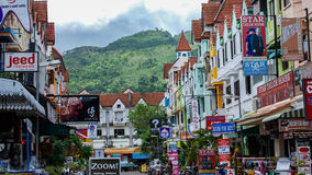 Downtown Phuket Stock Photography