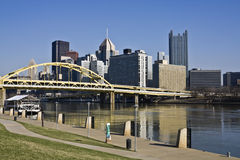 Downtown Pittsburgh Stock Images