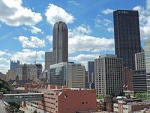 Downtown Pittsburgh Skyline Stock Image