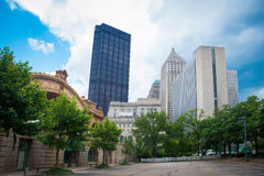 Downtown Pittsburgh Stock Image