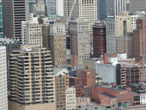 Downtown Pittsburgh royalty free stock photo