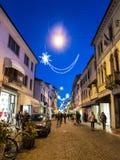 Downtown Pordenone, Italy royalty free stock image