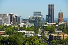 Downtown Portland Royalty Free Stock Photo