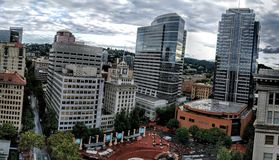 Downtown Portland Stock Images