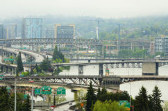Downtown Portland royalty free stock image
