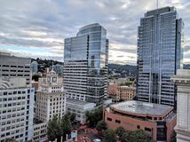 Downtown Portland Stock Photography