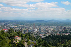 Downtown Portland Oregon Stock Photos
