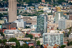 Downtown Portland Oregon Royalty Free Stock Photo