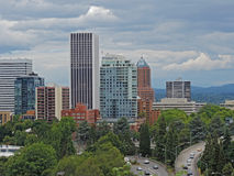 Downtown Portland Oregon Stock Images