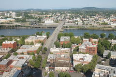Downtown Portland Oregon Stock Photo