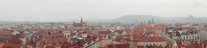 Downtown of Prague Stock Photo