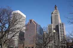 Downtown Providence Stock Images