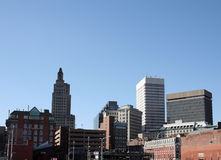 Downtown Providence Stock Photos