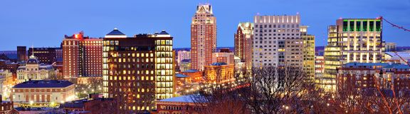 Downtown Providence Rhode Island Royalty Free Stock Photo