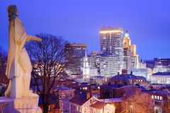 Downtown Providence Rhode Island Stock Photography