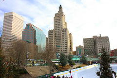 Downtown Providence, Rhode Island Stock Image