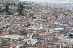 Downtown of Quito , Ecuador Royalty Free Stock Photos