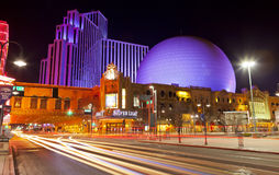 Downtown Reno Silver Legacy Stock Image