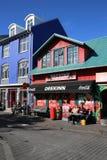 Downtown Reykjavik Royalty Free Stock Photo