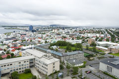 Downtown of Reykjavik, Iceland Stock Photos