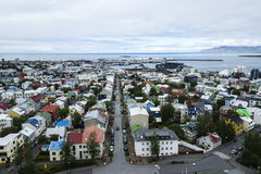 Downtown of Reykjavik, Iceland Stock Photography