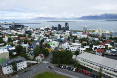 Downtown of Reykjavik, Iceland Stock Photo