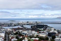 Downtown Reykjavik, Iceland Royalty Free Stock Photo