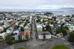 Downtown Reykjavik, Iceland Stock Photography