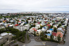 Downtown Reykjavik, Iceland Royalty Free Stock Images