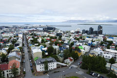 Downtown Reykjavik, Iceland Stock Images