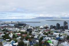 Downtown Reykjavik, Iceland Royalty Free Stock Photos