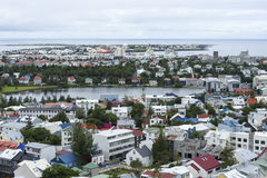 Downtown Reykjavik, Iceland Stock Photography