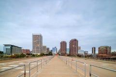 Downtown Richmond, Virginia skyline Stock Image