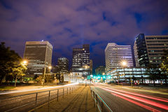 Downtown Richmond, Virginia skyline Royalty Free Stock Images