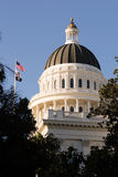 Downtown Sacramento California Capital Dome Building Stock Image