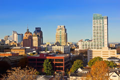Downtown Sacramento Stock Photography