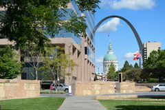 Downtown Saint Louis, Missouri Royalty Free Stock Photos