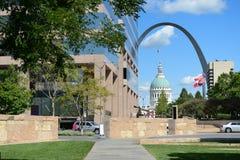 Downtown Saint Louis, Missouri Royalty Free Stock Photos
